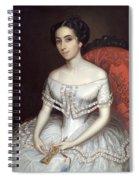 Carolina Gutierrez De La Fuente Spiral Notebook