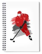 Carolina Hurricanes Player Shirt Spiral Notebook