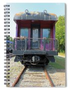 Carolina Southern Dining Car Spiral Notebook