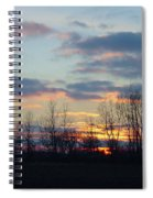 Carolina Sunset Spiral Notebook