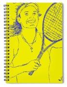 Caroline Wozniacki Spiral Notebook