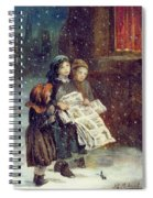 Carols For Sale  Spiral Notebook