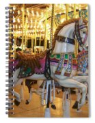 Carosel Horse Spiral Notebook