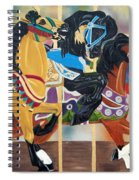 Carousel Beauties Spiral Notebook