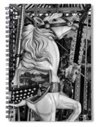 Carousel Beauty Salem Oregon 12  Spiral Notebook