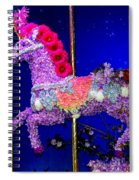 Carousel Floral Beauty Spiral Notebook
