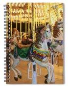 Carousel Horse 4 Spiral Notebook