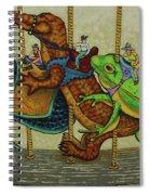 Carousel Kids 3 Spiral Notebook
