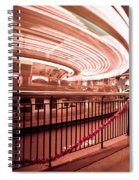 Carousel Lights #2 Spiral Notebook
