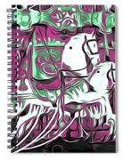 Carousel Spiral Notebook