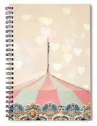 Carousel Tent Spiral Notebook