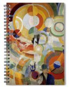Carousel With Pigs Spiral Notebook