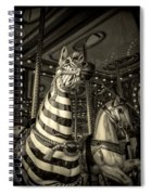 Carousel Zebra Spiral Notebook