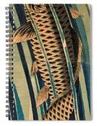 Carp Ascending A Waterfall Spiral Notebook