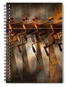 Carpenter  - Saws And Braces  Spiral Notebook