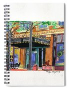 Carpenter Hotel-rain Spiral Notebook