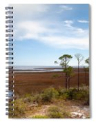 Carrabelle Salt Marshes Spiral Notebook