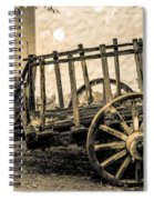 Carreta De Madera 2 Spiral Notebook