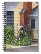 Carriage Lamp Spiral Notebook