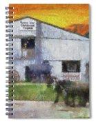Carriage Tour Mackinac Island Upper Peninsula Michigan Pa 01 Spiral Notebook
