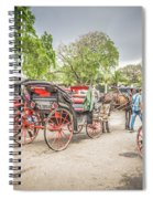 Carriages Spiral Notebook