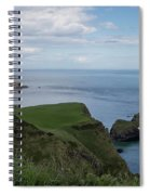 Carrick Island From Portaneevey Spiral Notebook