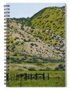 Carrizo Plain Daisy Hills Spiral Notebook