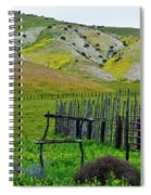 Carrizo Plain Ranch Wildflowers Spiral Notebook