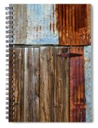 Carrizo Plain Shed Spiral Notebook