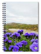 Carrizo Plains Phacelia Spiral Notebook