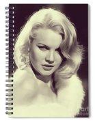 Carrol Baker, Vintage Actress Spiral Notebook