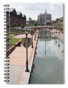 Carroll Creek Park In Frederick Maryland Spiral Notebook