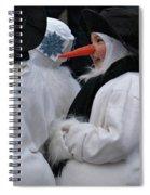 Carrot Nose 2 Spiral Notebook