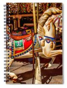 Carrousel Horse Ride Spiral Notebook