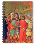 Carrying Of The Cross 1311 Spiral Notebook