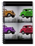 Cars Spiral Notebook