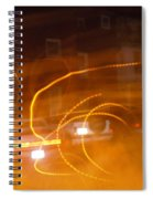 Cars On Fire Spiral Notebook