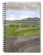 Carter's Pond Spiral Notebook
