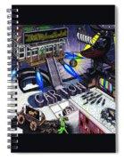 Carton Album Cover Artwork Front Spiral Notebook