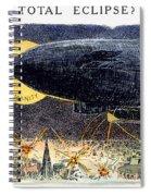 Cartoon: Airship Raid 1914 Spiral Notebook