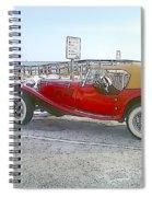 Cartoon Car Spiral Notebook