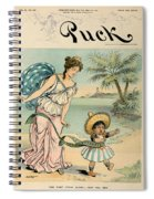 Cartoon: Cuba, 1902 Spiral Notebook