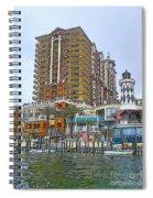 Cartoon Skyscraper  Spiral Notebook
