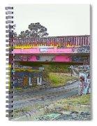 Cartoon Street Art Spiral Notebook