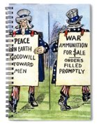 Cartoon: U.s. Neutrality Spiral Notebook