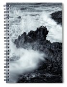 Carved By The Sea Spiral Notebook