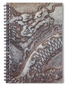 Carved Dragon Spiral Notebook