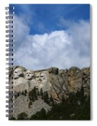 Carved In Stone For Eternity Spiral Notebook
