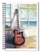 Carvin Electric Guitar Spiral Notebook