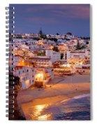Carvoeiro In The Evening Spiral Notebook
